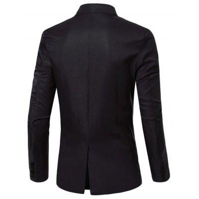 Pocket Decoration Suit JacketMens Blazers<br>Pocket Decoration Suit Jacket<br><br>Clothes Type: Jackets<br>Collar: Turn-down Collar<br>Fabric Type: Broadcloth<br>Material: Cotton Blends<br>Package Contents: 1 x Suit Jacket<br>Season: Fall, Spring<br>Shirt Length: Regular<br>Sleeve Length: Long Sleeves<br>Style: Formal<br>Weight: 0.3710kg