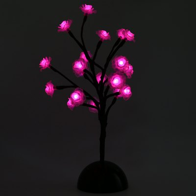 Rose Flower LED Tree Light