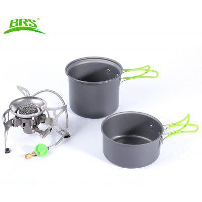 BRS - T15A Outdoor Gas Stove Set