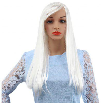 Long Straight Wigs with Bangs