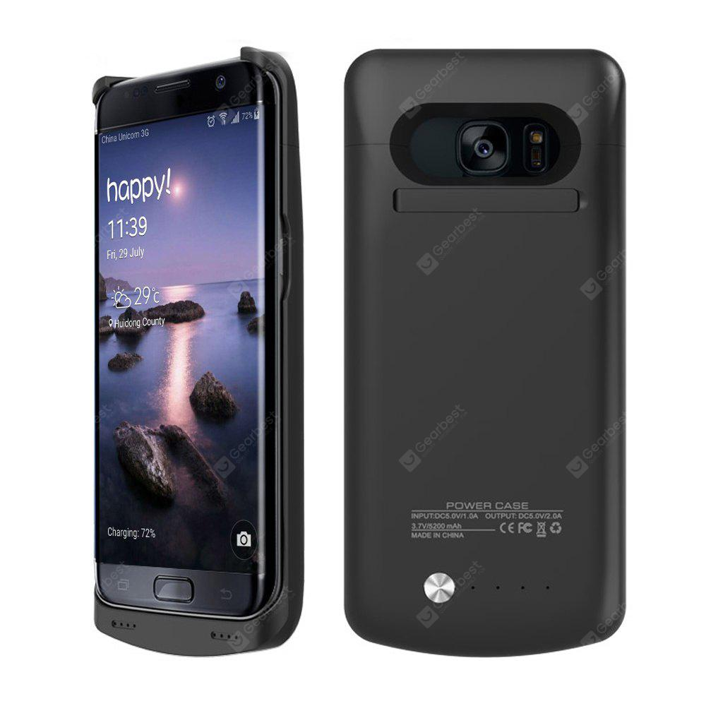new style 7101f fe09c 5200mAh Battery Case for Samsung Galaxy S7 Edge