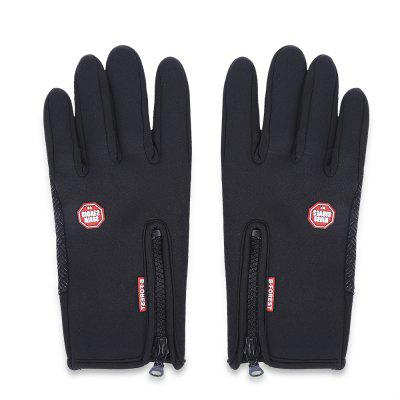 Paired Man Woman Screen Motorcycle Cycling Ski Glove