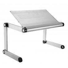 OMAX K6 Portable Laptop Desk Folding Table Vented Stand