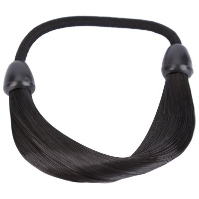 Braid Straight Wig Hair Band Rope Scrunchie Ponytail Holder