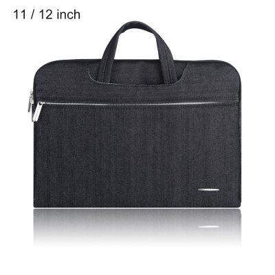 SSIMOO 2 in 1 Water Resistant Jean Fabric Laptop Bag for MacBook 11 / 12 inch