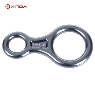 XINDA Outdoor Rock Climbing 8 Ring Descender