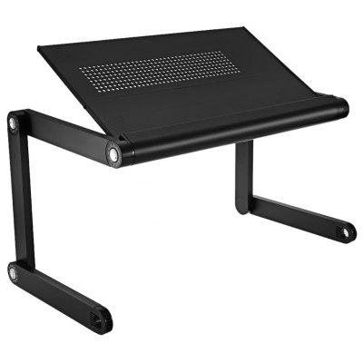 OMAX K6 Portable Desk Folding Table Vented Stand
