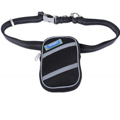 Pething Hands-free Waist Bag with Pet Dog Lead leash