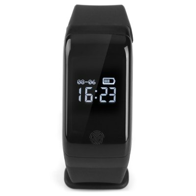X7 Bluetooth 4.0 Sports Smart WatchSmart Watches<br>X7 Bluetooth 4.0 Sports Smart Watch<br><br>Band material: TPU<br>Battery Capacity: 80mAh<br>Battery Type: Lithium polymer battery<br>Bluetooth Version: Bluetooth 4.0<br>Case material: PC<br>Compatability: Android 4.4 / iOS 7.1 and above system<br>Compatible OS: Android, IOS<br>Functions: Measurement of heart rate, Pedometer, Sedentary reminder, Sitting posture reminder, Sleep management, Temperature monitoring, Time, Distance recording, Date, Camera remote control, Calories burned measuring, Call reminder, Barometer, Altitude, Alarm Clock<br>Package Contents: 1 x Bracelet, 1 x Charging Clip, 1 x Chinese and English Manual<br>Package size (L x W x H): 8.50 x 12.50 x 4.00 cm / 3.35 x 4.92 x 1.57 inches<br>Package weight: 0.1470 kg<br>People: Unisex table<br>Product size (L x W x H): 24.00 x 2.50 x 1.00 cm / 9.45 x 0.98 x 0.39 inches<br>Product weight: 0.0230 kg<br>Screen: Yes<br>Screen type: OLED<br>Shape of the dial: Rectangle