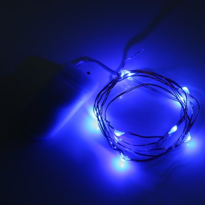 1M 10 LEDs CR2032 Battery Powered Mini String Light
