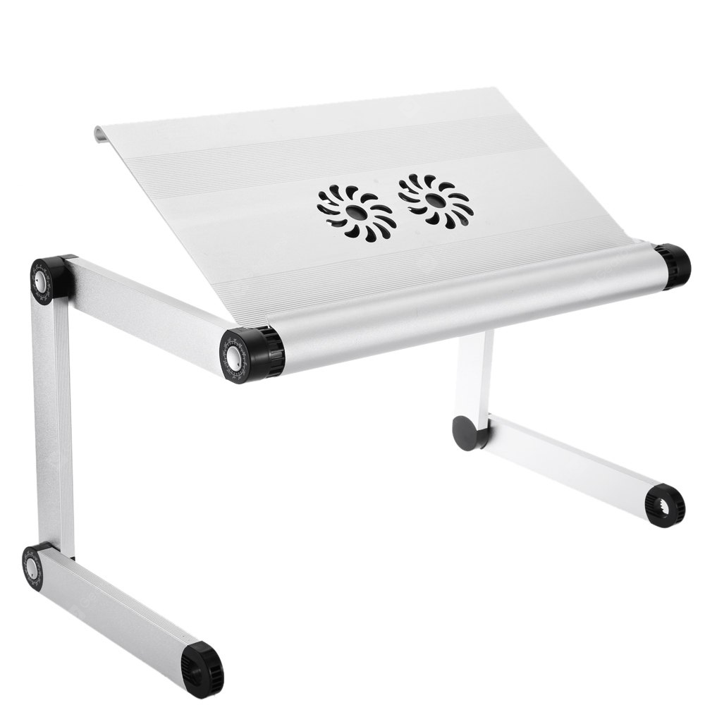 OMAX A8 Portable Laptop Desk Folding Table Cooling Fans