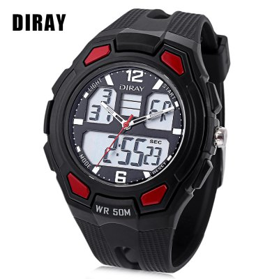 DIRAY DR - 302AD Children Dual Movt Watch