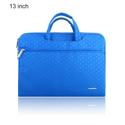 SSIMOO 2 in 1 Dot Pattern Sleeve for MacBook 13 inch
