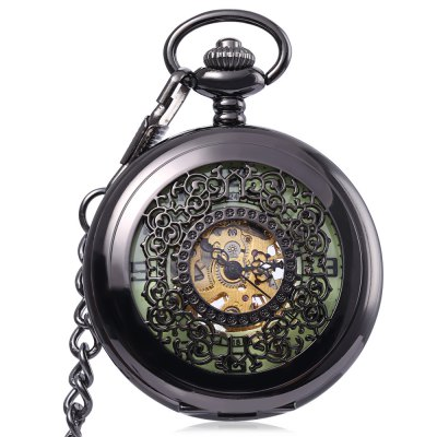 Antique Mechanical Hand Wind Pocket Watch