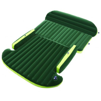 Drive Travel Car Air Inflation Bed Wave Design for SUV