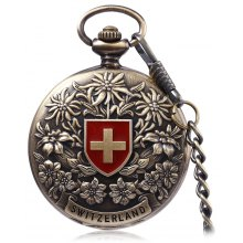 PC50 Retro Mechanical Hand Wind Pocket Watch
