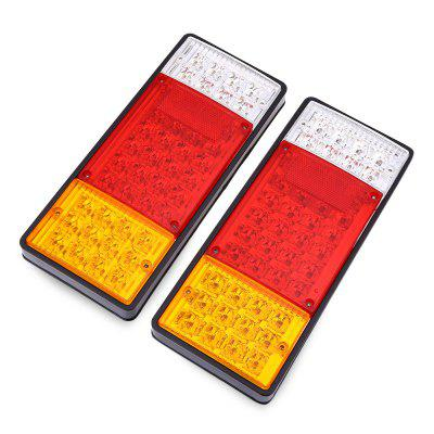 Pair of 12V Trailer 44 LEDs Waterproof Rear Tail Light