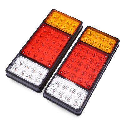 Pair of 12V 36 LEDs Trailer Truck Stop Rear Tail Light