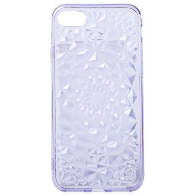 Soft TPU Rhombus Pattern Case for iPhone 7