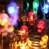 WC - DC - 20L (X) 20-LED Lighting Chains 2M Spider Strip Decoration String - ICE