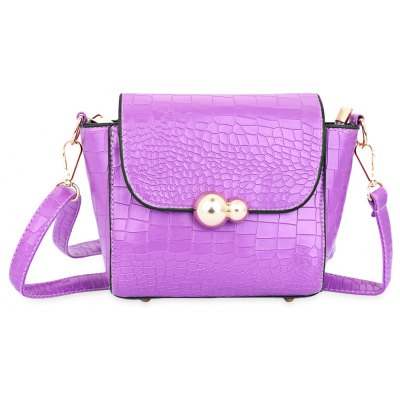 Guapabien Rivet Gourd Shoulder Messenger Crossbody Bag