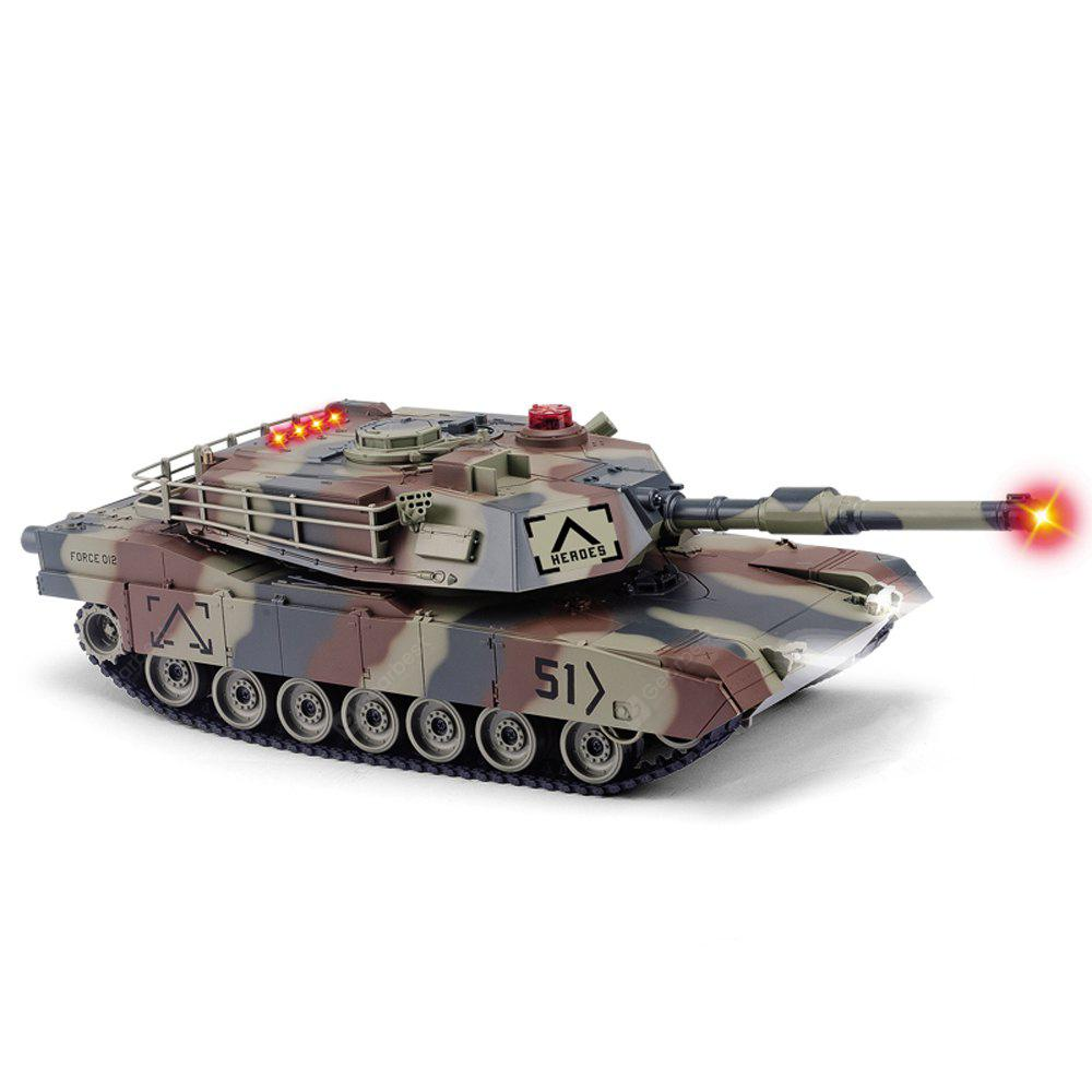 HUANQI 549 - 02 2.4G 1:24 Scale RC Battle Tank Toy