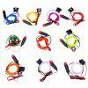 1M Neon EL Wire Glow String Light - COLORMIX