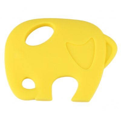 Cartoon Animal Elephant Food Grade Silicone BPA Free Teether