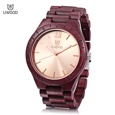 UWOOD UW - 1001 Male Quartz Watch