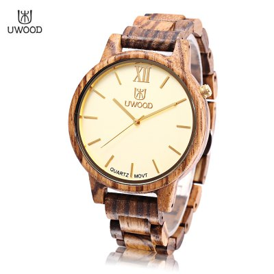 UWOOD UW - 1002 Men Wooden Quartz Watch