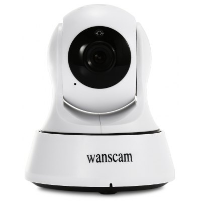 Buy WHITE WANSCAM HW0036 720P Wireless Indoor IP Security Camera for $22.36 in GearBest store