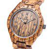 UWOOD UW - 1001 Men Wooden Quartz Watch - BROWN