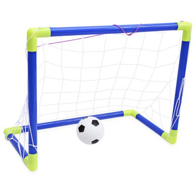 Anjanle Kids Mini Portable Football Goal Net Set