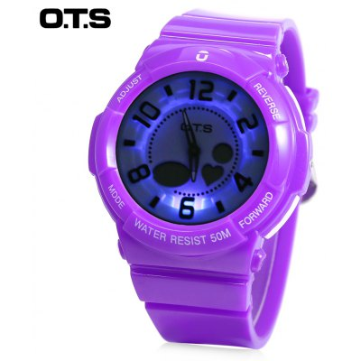 OTS T8053G Dual Movt Kids Sports Watch