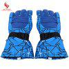 BENICE Paired Unisex Warm Protection Water Resistant Gloves - BLUE