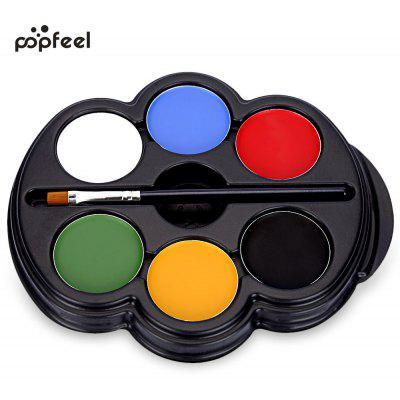 Popfeel 6 Colors Body Face Makeup Painting Pigment