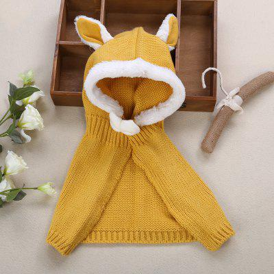Girl Child Bowknot Animal Rabbit Ear Shape Cloakbaby clothing accessories<br>Girl Child Bowknot Animal Rabbit Ear Shape Cloak<br><br>Gender: Girl<br>Item Type: Cloak<br>Material: Acrylic / Wool<br>Packabe Contents: 1 x Cloak<br>Package size (L x W x H): 24.00 x 13.00 x 6.50 cm / 9.45 x 5.12 x 2.56 inches<br>Package weight: 0.187 kg<br>Pattern: Animal<br>Product size (L x W x H): 55.50 x 0.60 x 51.00 cm / 21.85 x 0.24 x 20.08 inches<br>Product weight: 0.165 kg<br>Season: Winter<br>Style: Sweet<br>Suitable Age: 8 months-3 years old