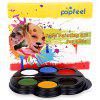 Popfeel 6 Colors Body Face Makeup Painting Pigment - BLACK