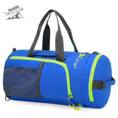 Tanluhu Waterproof Folding Nylon Multifunctional Knapsack