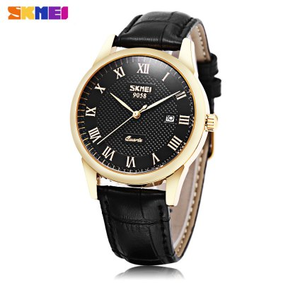 SKMEI 9058 Men Quartz Watch