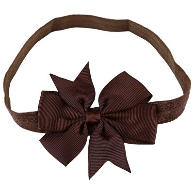 Bowknot Striped Swallow Tail Elastic Headwear Headband