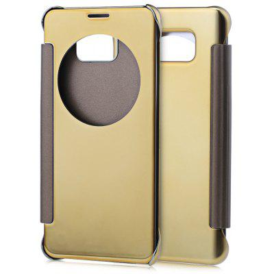 Mirror Flip Cover PC Case for Samsung Note 5