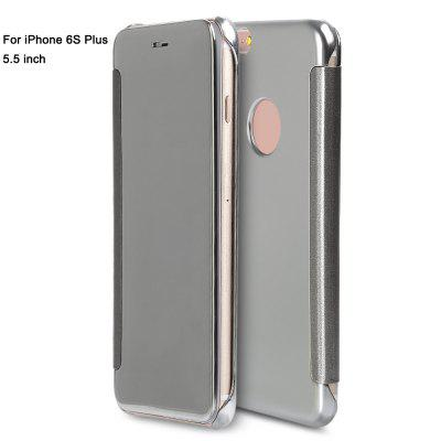 Mirror Flip Cover PC Case for iPhone 6S Plus 5.5 inch