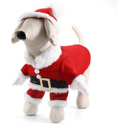 Pet Dog Christmas Santa Claus Clothes