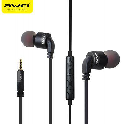 AWEI ES - 30TY Wired Stereo In-ear Earphones Headphones