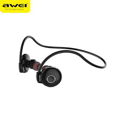 Awei A845BL Bluetooth V4.1 Neckband EarphonesSports &amp; Fitness Headphones<br>Awei A845BL Bluetooth V4.1 Neckband Earphones<br><br>Application: Portable Media Player, Mobile phone, Sport, For iPod<br>Battery Capacity(mAh): 100<br>Bluetooth: Yes<br>Bluetooth distance: W/O obstacles ?10m<br>Bluetooth Version: V4.1<br>Charging Time.: 2h<br>Connectivity: Wireless<br>Driver unit: 8mm<br>Frequency response: 20-20000Hz<br>Function: Answering Phone, Microphone, Bluetooth, HiFi, Song Switching, Noise Cancelling<br>Impedance: 16ohms<br>Music Time: 8h<br>Package Contents: 1 x Earphones<br>Package size (L x W x H): 18.00 x 10.00 x 4.00 cm / 7.09 x 3.94 x 1.57 inches<br>Package weight: 0.181 kg<br>Plug Type: 3.5mm<br>Product size (L x W x H): 6.00 x 2.50 x 2.00 cm / 2.36 x 0.98 x 0.79 inches<br>Product weight: 0.016 kg<br>Sound channel: Two-channel (stereo)<br>Standby time: 200h<br>Talk time: 10h