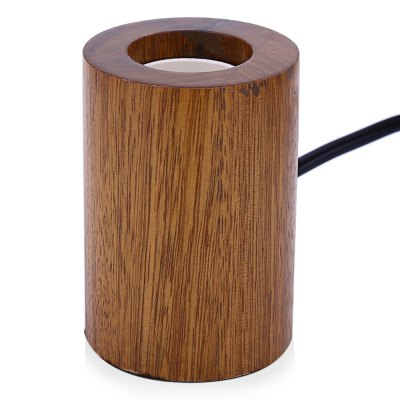 E27 Modern Minimalist Wood Lamp Holder