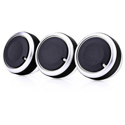 3PCS Automobile Conditioning Knob for Ford