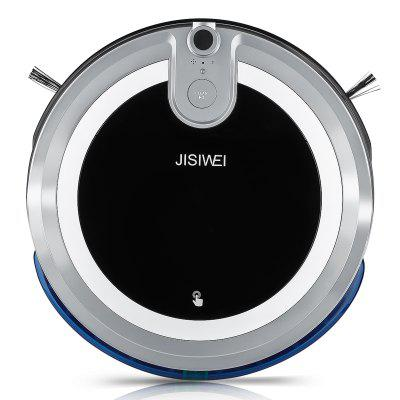 JISIWEI I3 Smart Robotic Vacuum CleanerRobot Vacuum<br>JISIWEI I3 Smart Robotic Vacuum Cleaner<br><br>Battery Capacity: 2200mAh<br>Battery Type: Li-ion battery<br>Brand: JISIWEI<br>Charging Time: 3h<br>Cleaning Area (sq.m.): 200sq.m.<br>Climb Capability: 1.5cm<br>Color: Gold,Gray,White<br>Dust Box Capacity: 600ml<br>Function: Mopping, Suction, Sweep, Wet and Dry<br>Noise (dB): Less than 65dB<br>Operation Range: Equal to or less than 10M<br>Package Contents: 1 x Vacuum Cleaner, 1 x Remote Controller, 1 x Charging Dock, 1 x Adapter, 1 x Cleaning Brush, 1 x Bristle Brush, 4 x Side Brush, 1 x Mopping Pad, 1 x English User Manual<br>Package size (L x W x H): 48.00 x 45.00 x 18.00 cm / 18.9 x 17.72 x 7.09 inches<br>Package weight: 4.600 kg<br>Power (W): 30W<br>Product size (L x W x H): 34.00 x 8.80 x 8.80 cm / 13.39 x 3.46 x 3.46 inches<br>Product weight: 2.600 kg<br>Remote Control: Yes<br>Self Recharging: Yes<br>Suction (pa): 800pa<br>Working Time: 2h