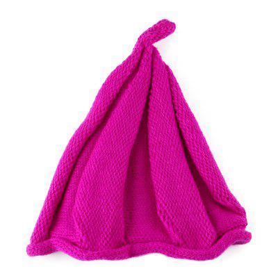 Twisted Child Unisex Wool Knitting Pointed Hat